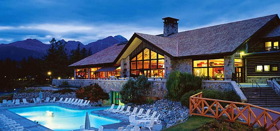 Fairmont Jasper Park Lodge Canadian Rockies Trains